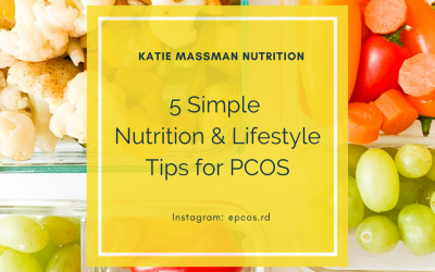 5 Simple Nutrition & Lifestyle Tips for PCOS